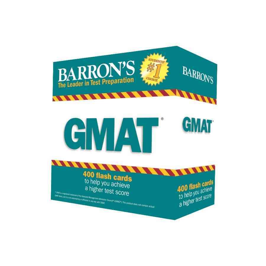 Barron's Gmat Flash Cards By Herman, Jennifer